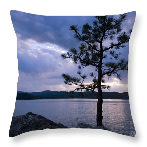Strength Throw Pillow featuring the photograph Determination by Idaho Scenic Images Linda Lantzy