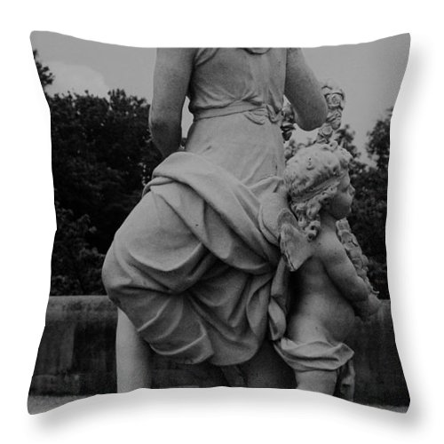 Figurative Throw Pillow featuring the painting Diana by Eric Schiabor