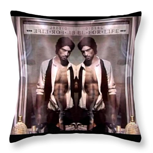 Dream Throw Pillow featuring the photograph Diesel For Life by Charles Stuart