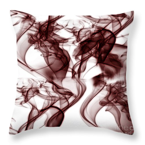 Clay Throw Pillow featuring the digital art Dilusional by Clayton Bruster