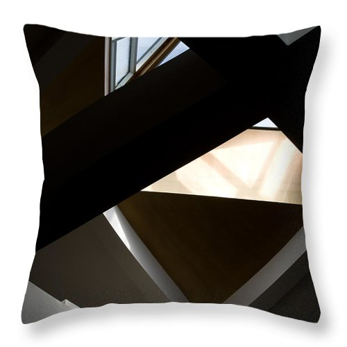 Holy Ghost Church Winnipeg Throw Pillow featuring the photograph Dimensions by Joanne Smoley