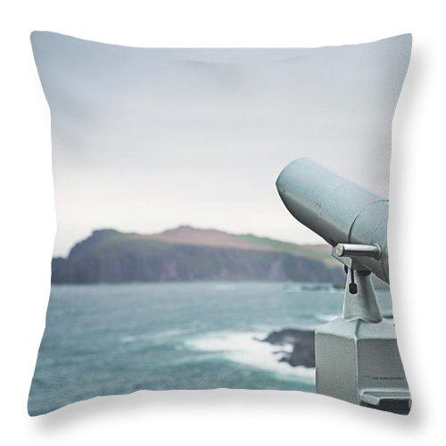 Kremsdorf Throw Pillow featuring the photograph Distant Horizons by Evelina Kremsdorf