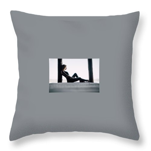 Bankruptcy Attorney Richmond Va Throw Pillow featuring the mixed media Divorce Attorney Richmond Va by The Andrews Law Firm