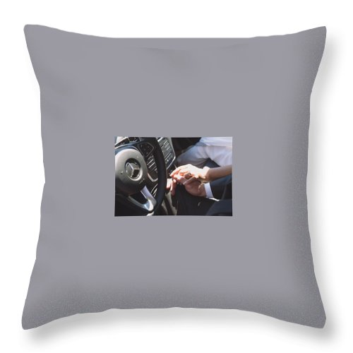Divorce Lawyer Riverdale Park Md Throw Pillow featuring the mixed media Divorce Attorney Riverdale Park Md by Andrews Law Group