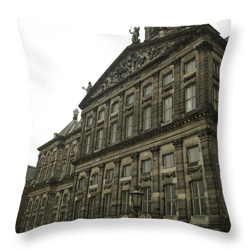 Landscape Throw Pillow featuring the photograph Dnrh1107 by Henry Butz