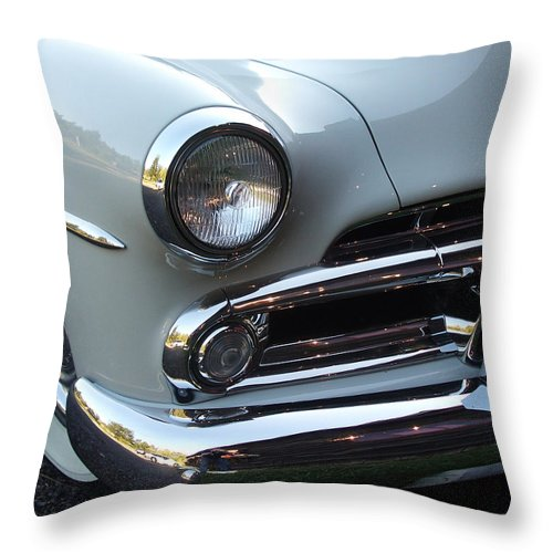 Dodge Throw Pillow featuring the photograph Dodge by Tim Nyberg
