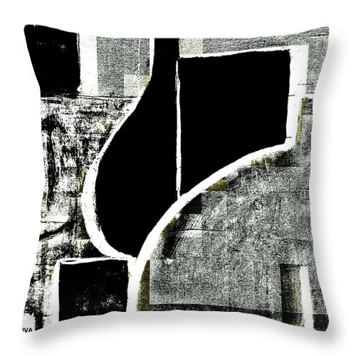 Viva Throw Pillow featuring the painting Dominance by VIVA Anderson