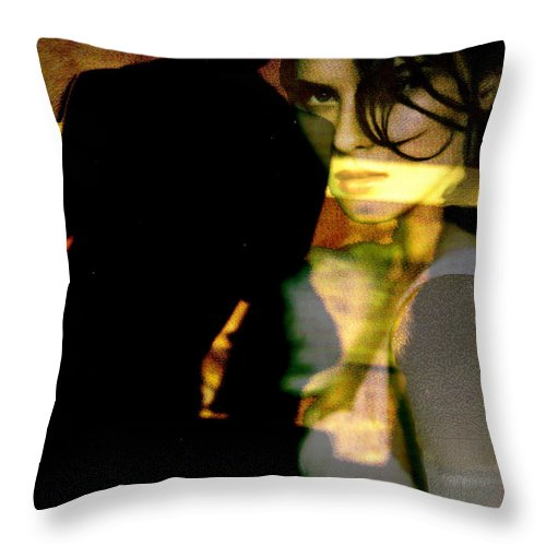 Mystery Throw Pillow featuring the digital art Drama After Dark by Seth Weaver