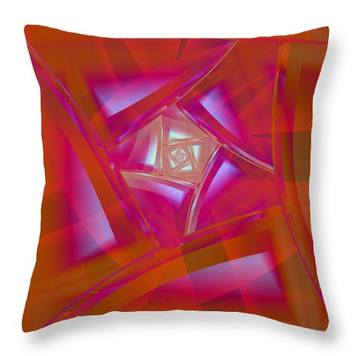 Dream Throw Pillow featuring the digital art Dream Catcher by Frederic Durville