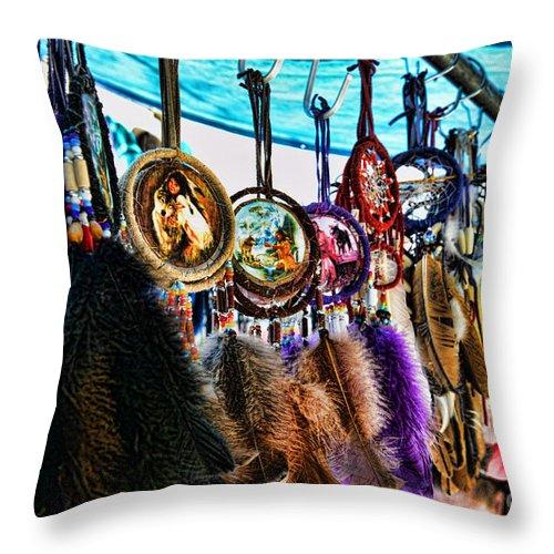 Dreamcatcher Throw Pillow featuring the photograph Dreamcatcher by Paul Ward