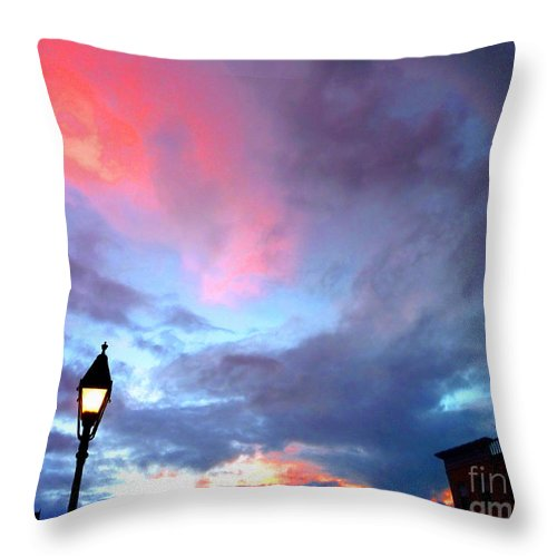 Wolfeboro Throw Pillow featuring the photograph Dreaming by Valerie Fuqua