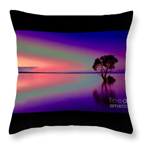 Dreams May Come Throw Pillow for Sale by Breena Briggeman