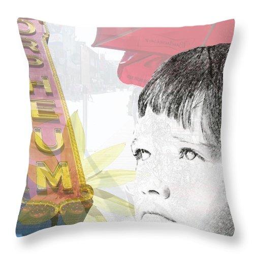 Memphis Throw Pillow featuring the photograph Dreams Of Memphis by Amanda Barcon