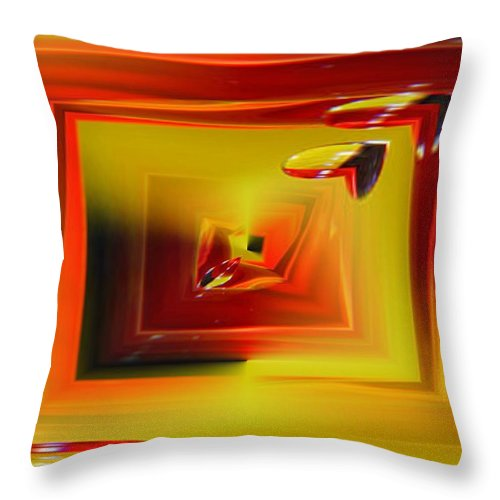 Droplets Throw Pillow featuring the photograph Droplets by Tim Allen