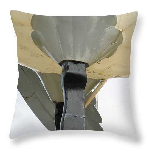 Wawa Throw Pillow featuring the photograph Drumstick by Kelly Mezzapelle