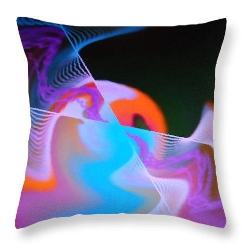 Digital Art Throw Pillow featuring the painting Dsc01548 by Ralph Root