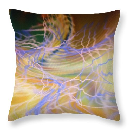 Digital Art Throw Pillow featuring the painting Dsc01551 by Ralph Root