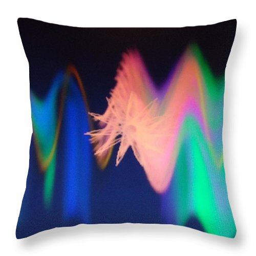 Digital Art Throw Pillow featuring the painting Dsc01580 by Ralph Root