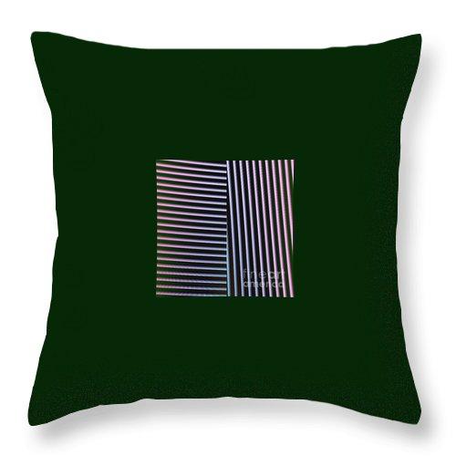 Digital Art Throw Pillow featuring the digital art Duality II by Dragica Micki Fortuna