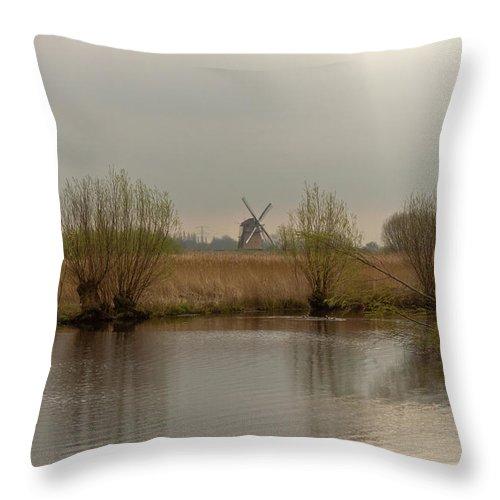 Kinderjik Throw Pillow featuring the photograph Early Morning In Kinderjik by Jill Smith