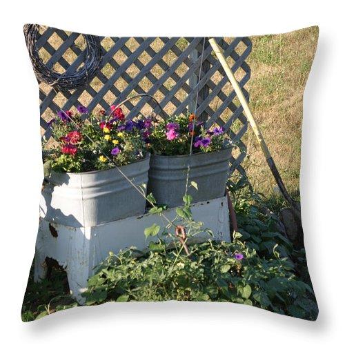 Summer Throw Pillow featuring the photograph Early Summer by Bjorn Sjogren