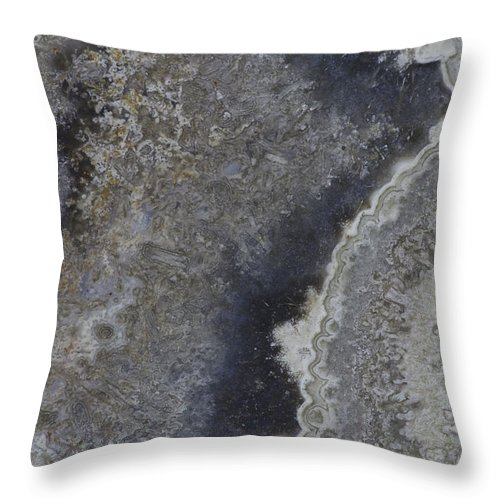 Macro Throw Pillow featuring the photograph Earth Portrait 001 by David Waldrop