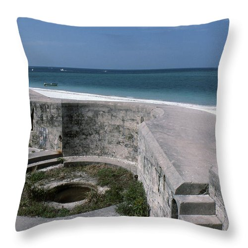 Beaches Throw Pillow featuring the photograph Egmont Key by Richard Rizzo