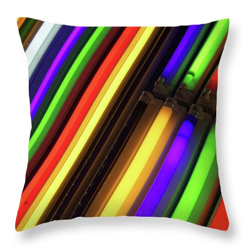 Electric Boogaloo Throw Pillow featuring the photograph Electric Boogaloo by Skip Hunt