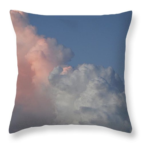 Clouds Throw Pillow featuring the photograph Elephant Cloud by Rob Hans