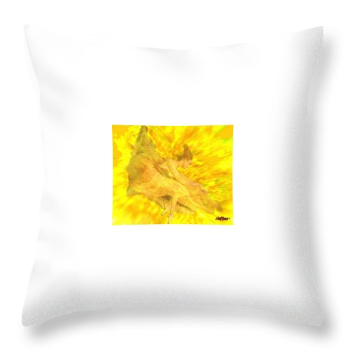 Joy Throw Pillow featuring the digital art Endless Joy by Seth Weaver