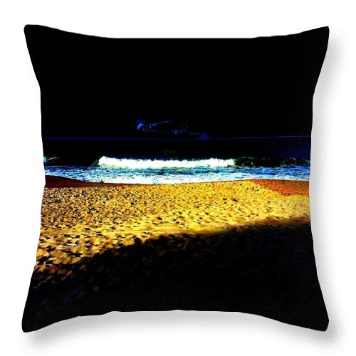 Square Throw Pillow featuring the digital art Entrance To Infinity by Eikoni Images