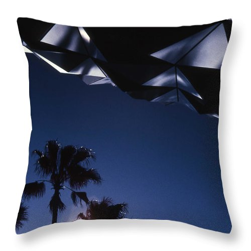 Epcot Throw Pillow featuring the photograph Epcot Abstract by Richard Rizzo