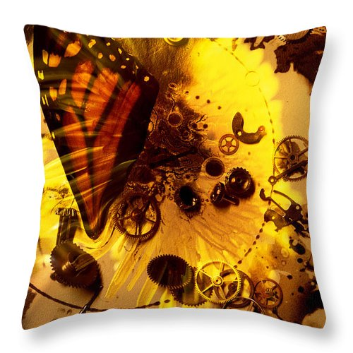 Circumference Throw Pillow featuring the digital art Epiphany... by Arthur Miller