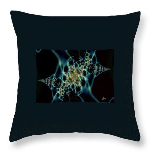Ethereal Throw Pillow featuring the digital art Ethereal by Julie Grace