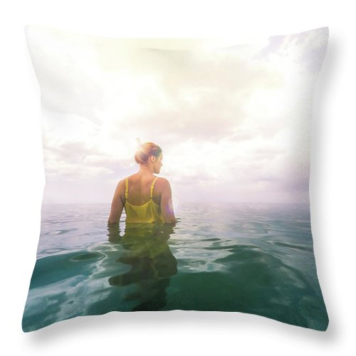 Eutierria Throw Pillow featuring the photograph Eutierria by Nicklas Gustafsson