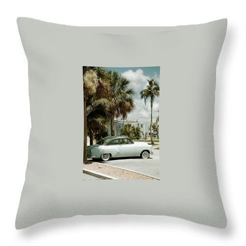Everglade City Throw Pillow featuring the photograph Everglade City I by Flavia Westerwelle