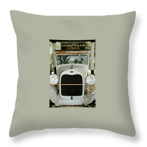 Everglade City Throw Pillow featuring the photograph Everglade City IIi by Flavia Westerwelle
