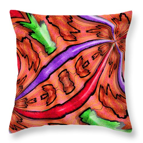 Photography Throw Pillow featuring the photograph Evolucion De Las Aves by Paul Wear