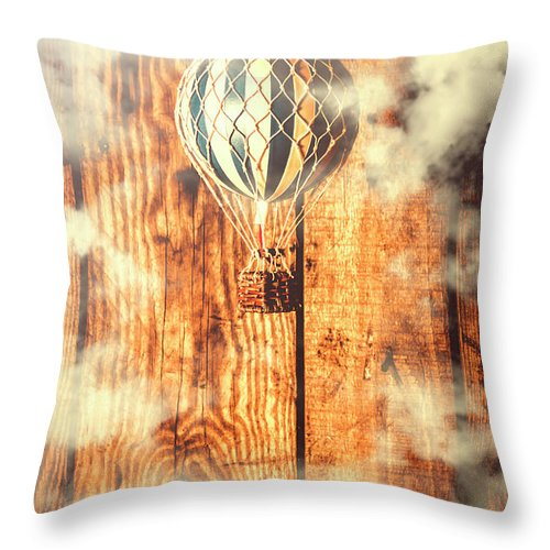 Still Life Throw Pillow featuring the photograph Exhibit In Adventure by Jorgo Photography - Wall Art Gallery
