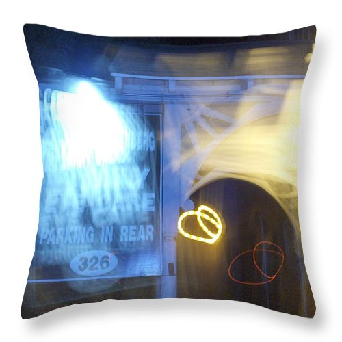 Photograph Throw Pillow featuring the photograph Eye Doctor by Thomas Valentine
