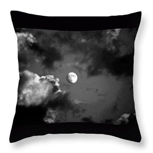 Sky Throw Pillow featuring the photograph Eye In The Sky by Steve Karol