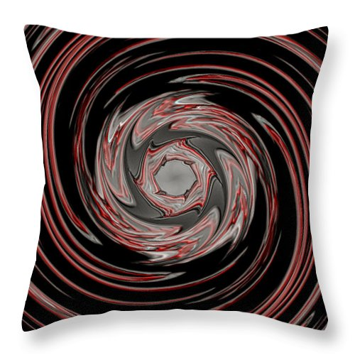 Storm Throw Pillow featuring the digital art Eye Of The Storm by Brian Dearth