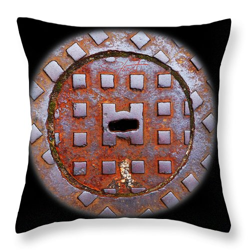 Face Throw Pillow featuring the photograph Face by Charles Stuart