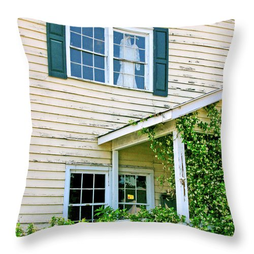Memories Throw Pillow featuring the photograph Faded Dreams by Pat Walsh