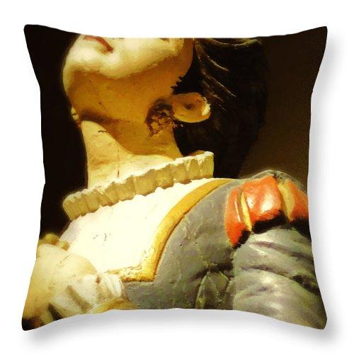 Antique Throw Pillow featuring the digital art Fair Weather Prayer by RC DeWinter