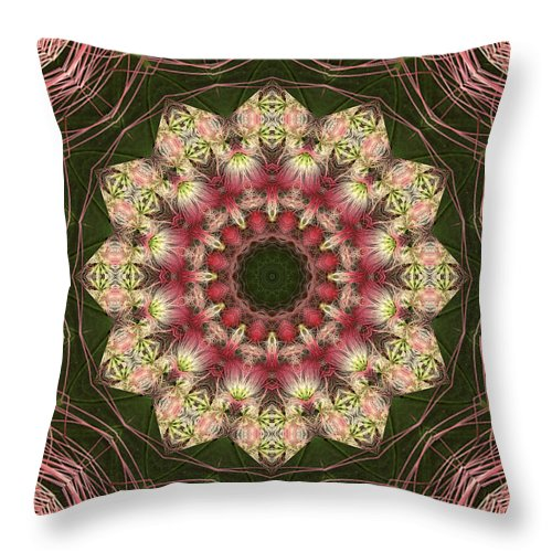 Mandalas Throw Pillow featuring the photograph Faith by Bell And Todd