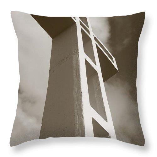 Faith Throw Pillow featuring the photograph Faith by Caroline Lomeli