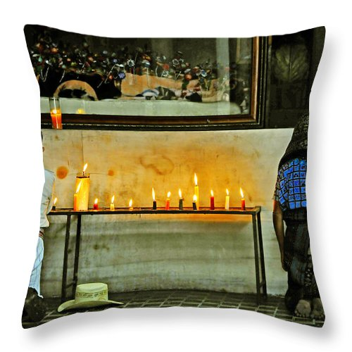 Skip Hunt Throw Pillow featuring the photograph Faith by Skip Hunt