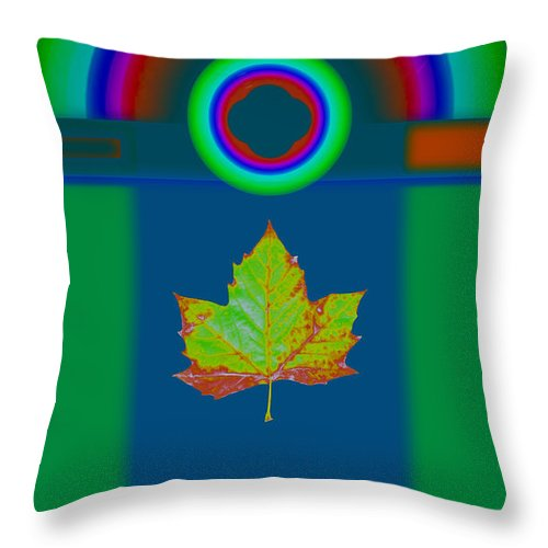Classical Throw Pillow featuring the painting Fall by Charles Stuart