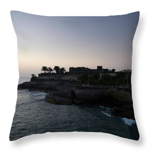 Fanabe Throw Pillow featuring the photograph Fanabe Evening 3 by Jouko Lehto
